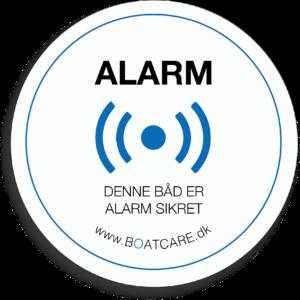 BoatCare Alarmskilt